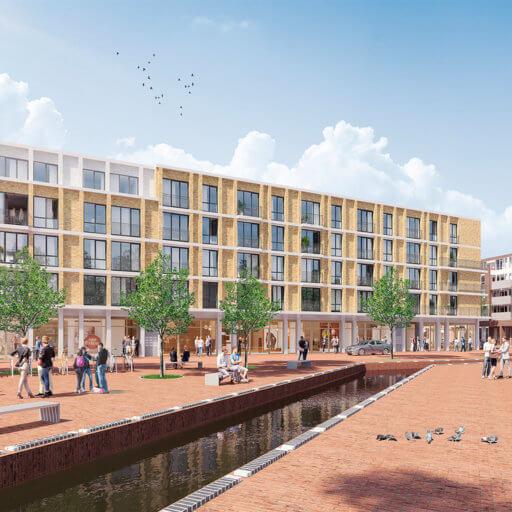 15 Luxe appartementen + 3 Penthouses [EPC = 0!] met commerciële plint